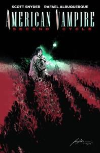 American Vampire 2 cover