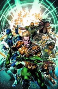Aquaman and the Others 01 cover