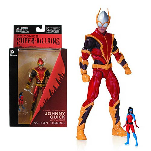 Johnny Quick packaging DC Collectibles