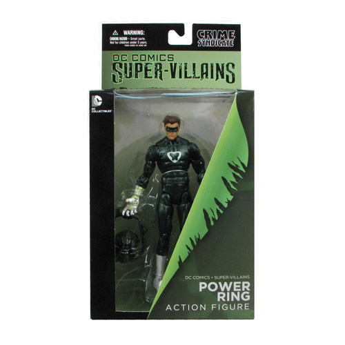 Power Ring DC Collectibles packaging