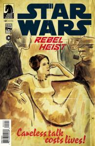 Star Wars Rebel Heist 2 variant cover Kindt