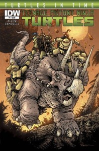 TMNT Turtles in time 1 cover