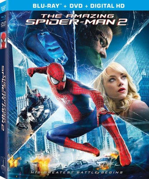 the amazing spider-man 2 blu-ray