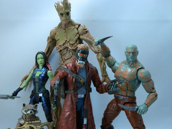 Guardians of the Galaxy Marvel Legends complete 01