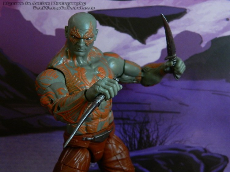 Marvel Legends Guardians of the Galaxy Drax 09