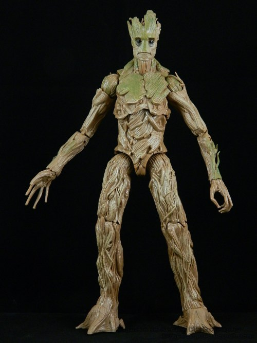 Marvel Legends Guardians of the Galaxy Groot BAF 02