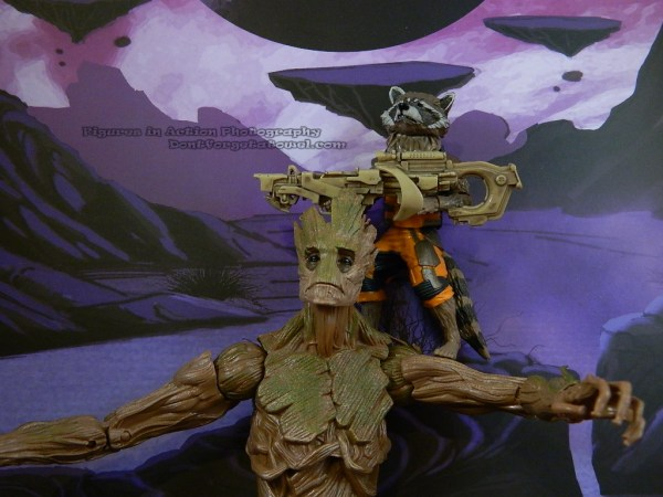 Marvel Legends Guardians of the Galaxy Rocket Raccoon 10