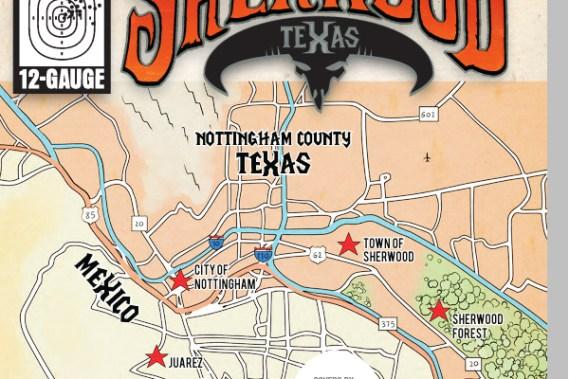 Sherwood Texas map