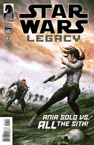 Star Wars Legacy 17 cover
