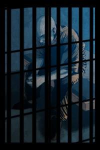 Solitary Behind Bars Varient