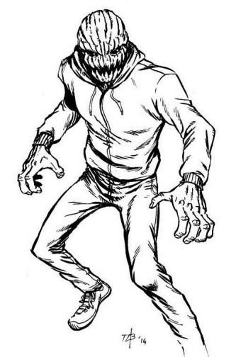 pumpkinface origins sketch