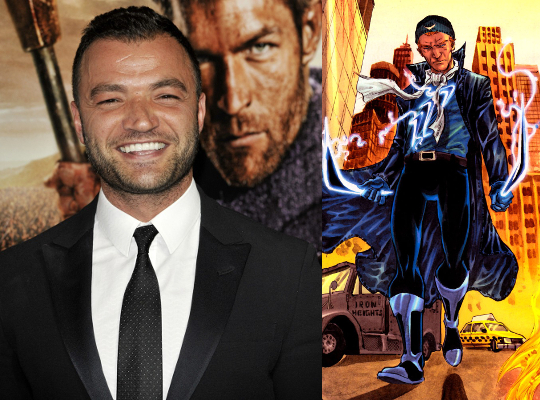 Arrow Captain Boomerang Nick Tarabay