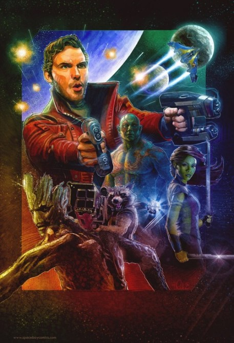 Blake Armstrong Guardians of the Galaxy