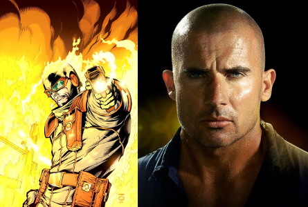 The Flash Heat Wave Dominic Purcell