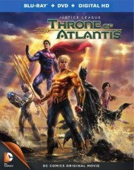 Justice League Throne of Atlantis Blu Ray box art