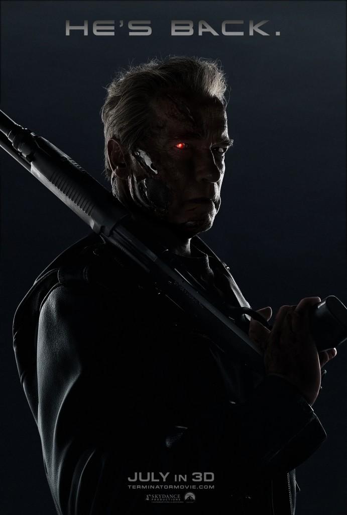terminator genisys arnold poster