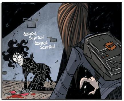 Edward Scissorhands #4.3