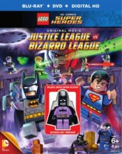 LEGO Justice League vs Bizarro League Bluray