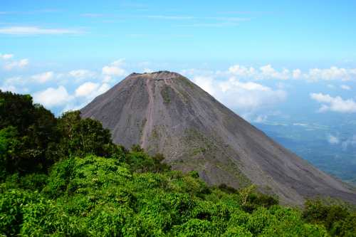 Image result for volcano el salvador santa ana