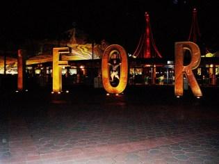 Illuminated California Disney Park