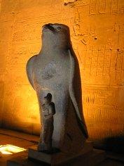 Illuminated Horus, Edfu Egypt