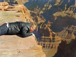 On top of the Grand Canyon's south rim, Arizona
