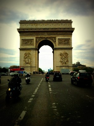 N is the shape of the Arc de Triumph, Paris
