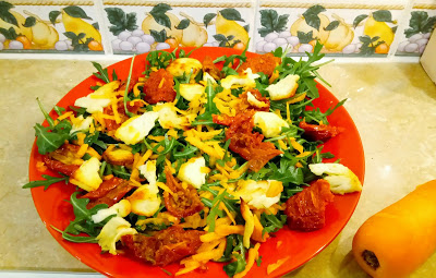 1 bowl Sweet chilli halloumi salad Dinner Grainfree Lunch Popular