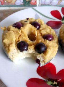 Sugar free low carb blueberry lemon donuts Breakfast Desserts Grainfree Lunch Popular