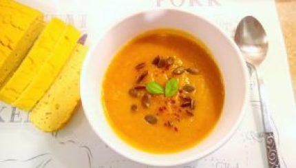 Warming spiced pumpkin apple soup (vegan) Dinner Grainfree Lunch vegan