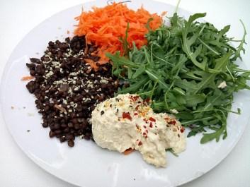 Power up plant plate Dinner Grainfree Lunch vegan