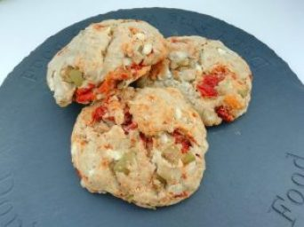 Savoury Mediterranean scones Breakfast Dinner Lunch snack