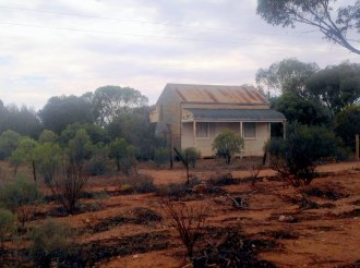 Along the road to Silverton from Broken Hill, NSW Photo Erle Levey / Sunshine Coast Daily