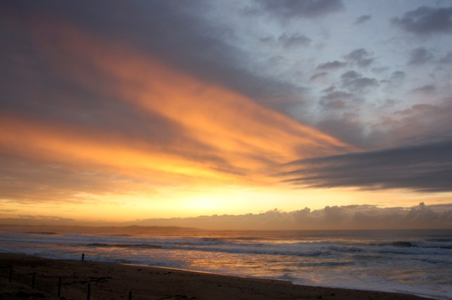 Early morning light at Cronulla.