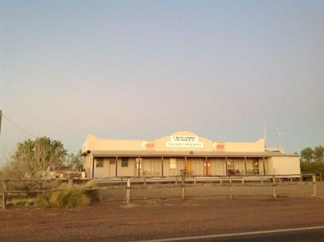 The Walkabout Creek Hotel, McKinlay, Queensland. Photo: Erle Levey, Sunshine Coast Newspapers