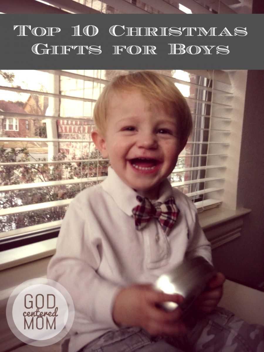 Top 10 Christmas Gifts For Boys