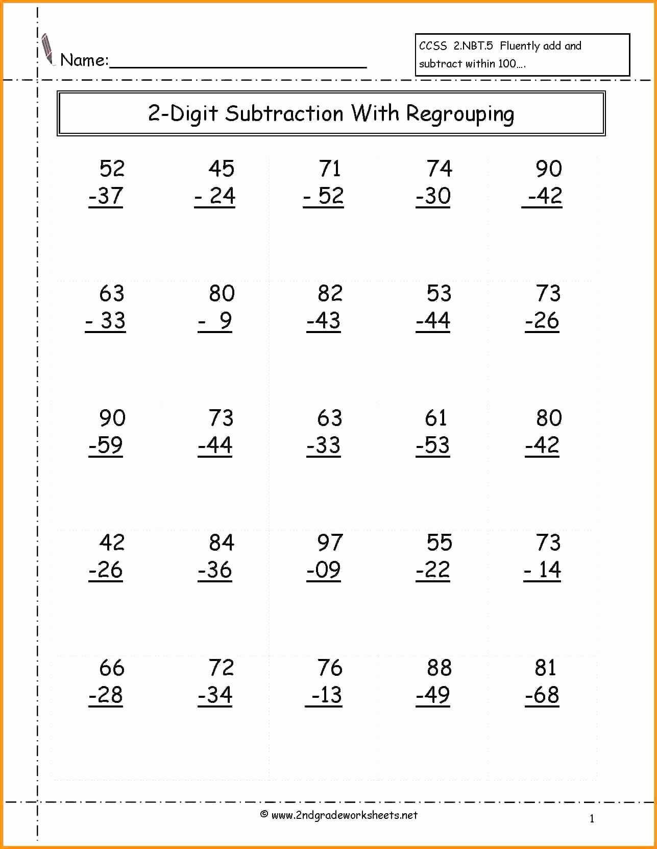 hight resolution of 2nd Grade Multiplication Worksheets Inspirational 2nd Grade Math Worksheets  Place Value Second Classroom – Printable Math Worksheets