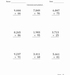Free 2 Digit Multiplication Worksheets Awesome Two Digit Addition Worksheets  Free Printable – Printable Math Worksheets [ 1325 x 1024 Pixel ]