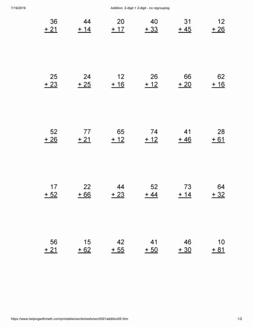 small resolution of Grade 2 Multiplication Worksheets Awesome Math Worksheet Printable Maths  Sheets for Year Math – Printable Math Worksheets