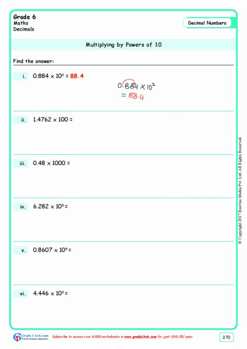 small resolution of Multiplication Worksheets for Grade 6 Unique Grade 6 Class Six  Multiplication Worksheets – Printable Math Worksheets