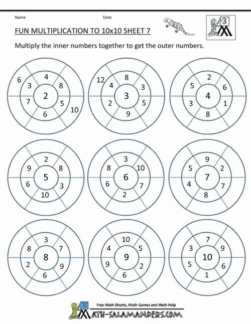 small resolution of Multiplication Worksheets Grade 3 Free Unique the Multiplying Digit by  Numbers Print Math – Printable Math Worksheets