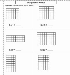 Multiplication Worksheets Using Arrays Awesome Multiplication Arrays  Worksheets – Printable Math Worksheets [ 1650 x 1275 Pixel ]