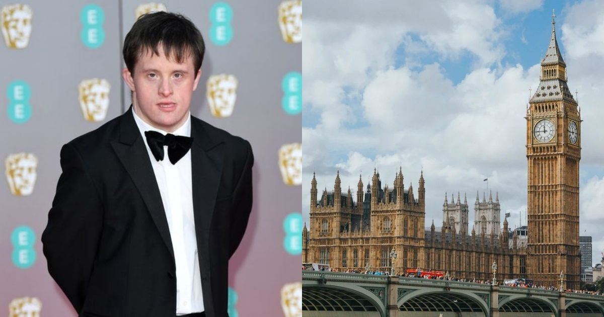 Tommy Jessop Down's syndrome Parliament