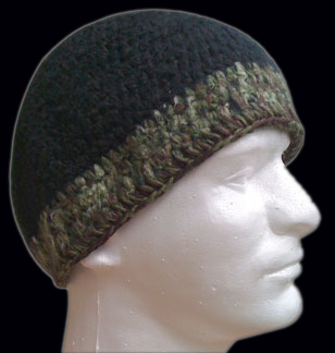 Bamboo Hemp  Black Camo
