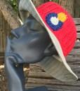 Colorado hemp sun hat