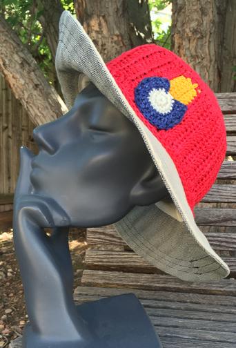 Co Mixed Cyrus Sun hat