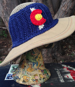 Colorado hemp sun hat