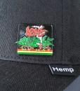 Hat Pin on Hemp Flexfit Hat
