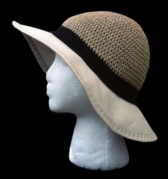 Natural Hemp Sun Hat