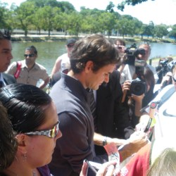Jonny Blair met Roger Federer in Melbourne in 2010. He lives a lifestyle of travel.